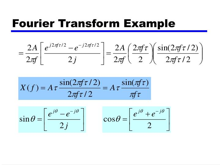 Fourier Transform Example