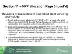 section 11 npp allocation page 3 cont d