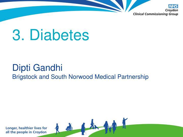 3. Diabetes
