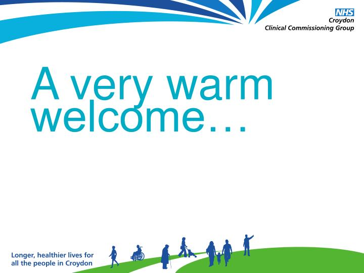 A very warm