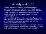 anxiety and chd