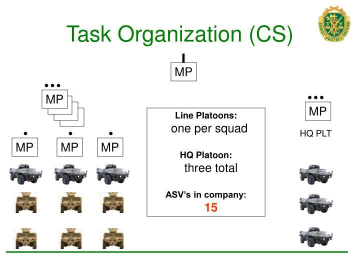 Task Organization (CS)