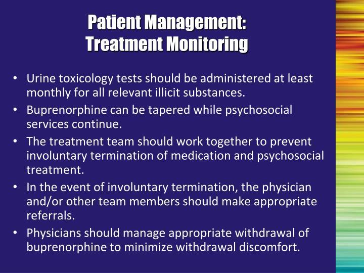 Patient Management: