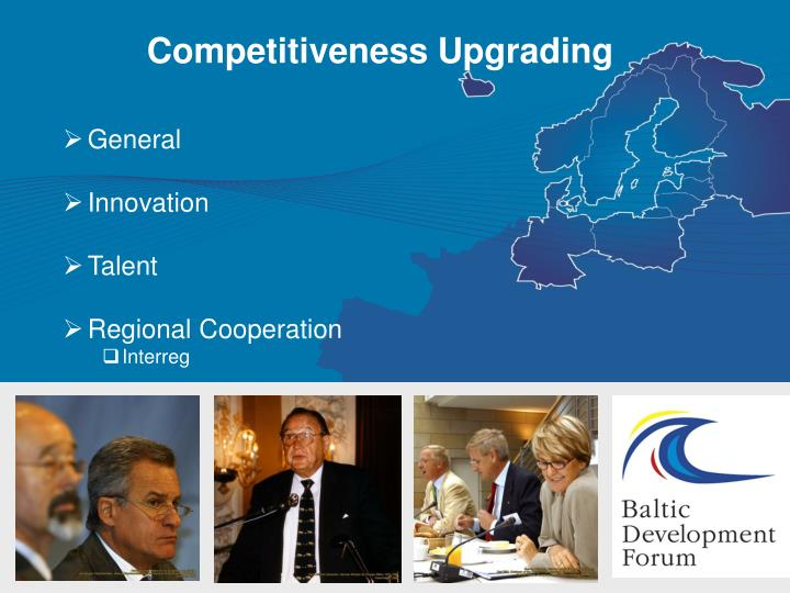 Competitiveness Upgrading
