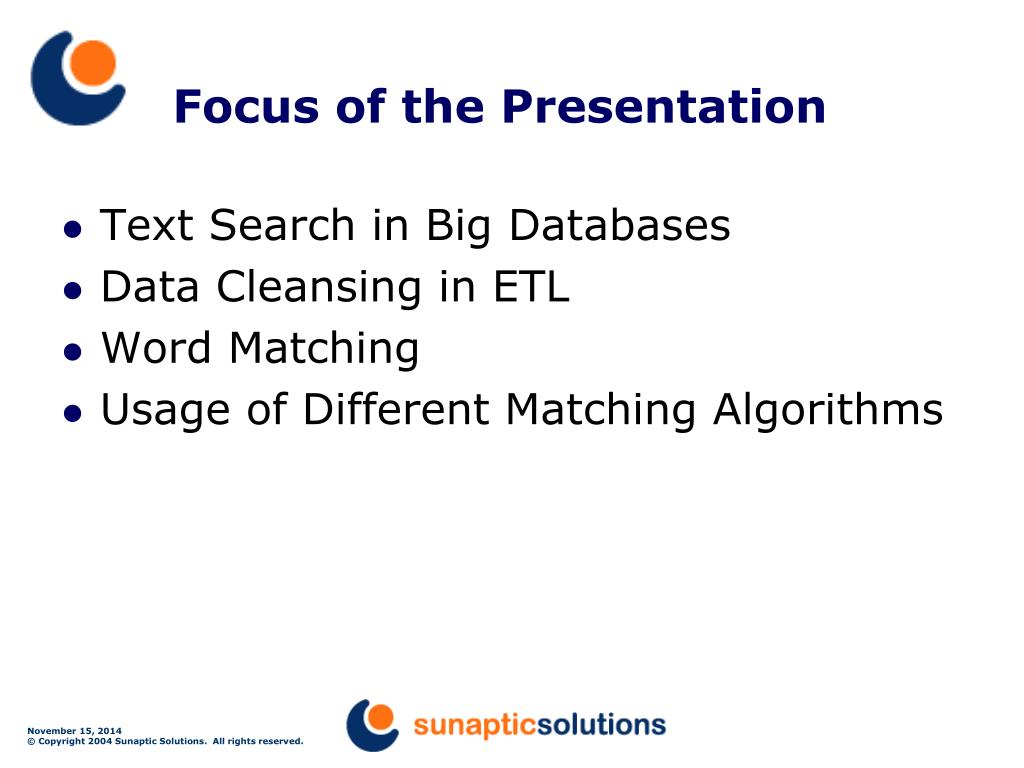PPT - Text Search and Fuzzy Matching PowerPoint Presentation - ID