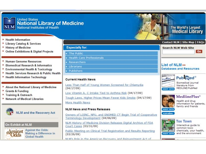 Betsy l humphreys mls national library of medicine national institutes of health