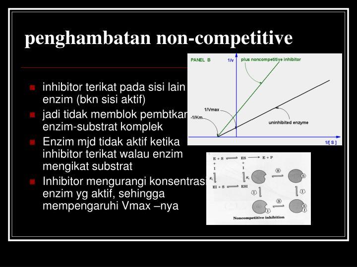 penghambatan non-competitive