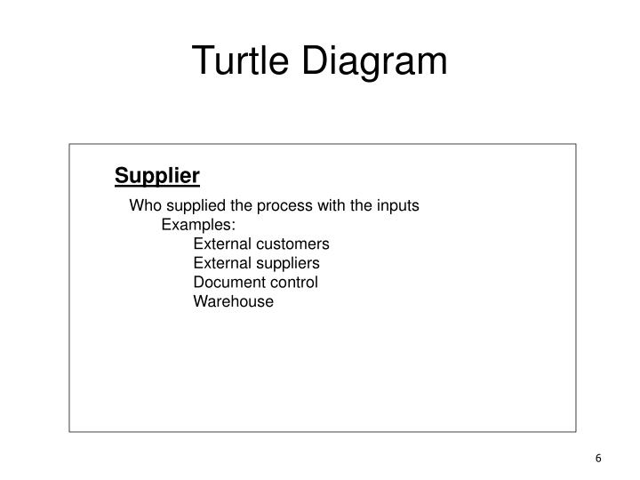 Ppt - Turtle Diagram Powerpoint Presentation