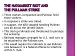 the haymarket riot and the pullman strike2