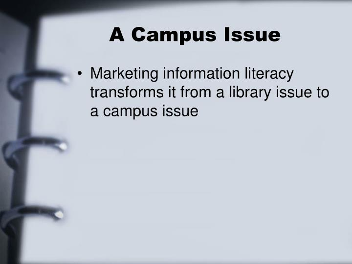 A Campus Issue