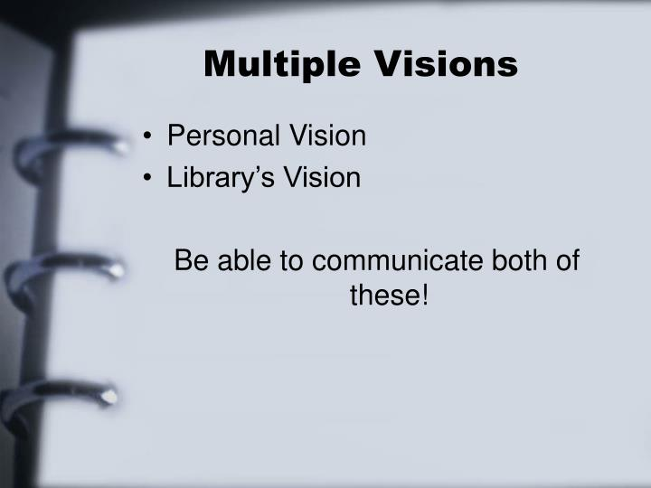 Multiple Visions