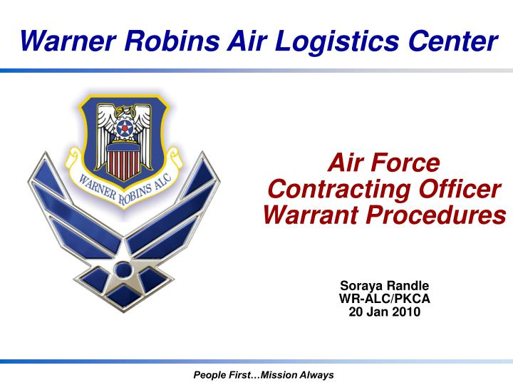ppt - air force contracting officer warrant procedures powerpoint, Modern powerpoint