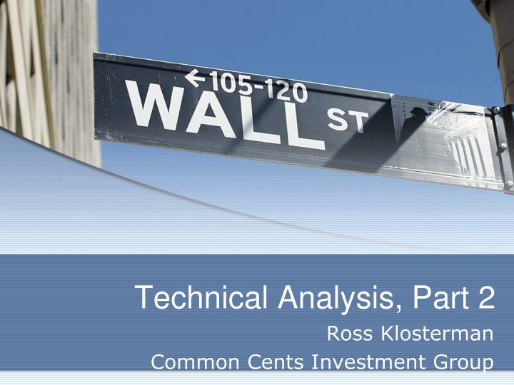 technical analysis part 2 n.