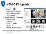 namic kit update