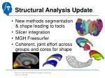 structural analysis update