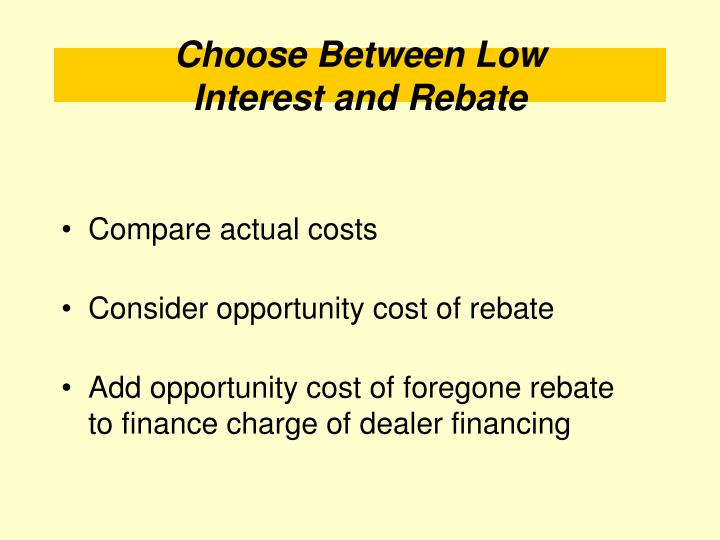 Compare actual costs