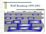 wap roadmap 1999 2001
