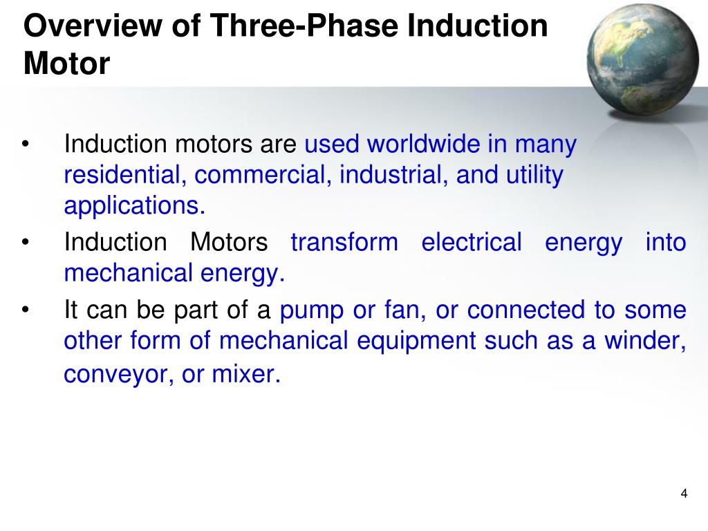 Application of single phase induction motor ppt