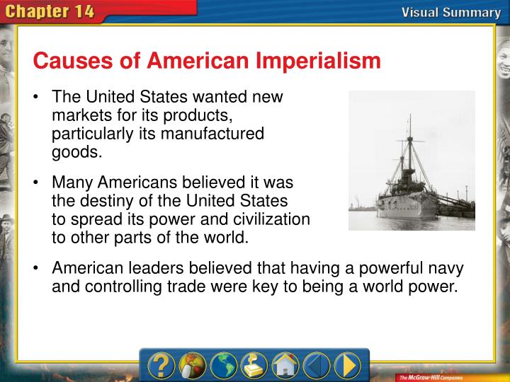 Causes of American Imperialism