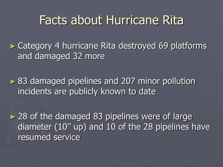 Facts about Hurricane Rita