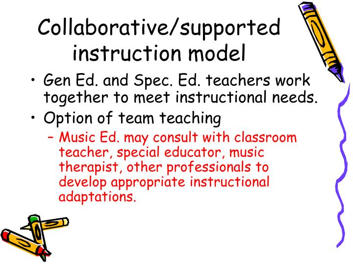Collaborative/supported