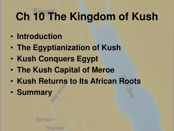 ch 10 the kingdom of kush n.