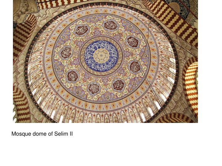 Mosque dome of Selim II