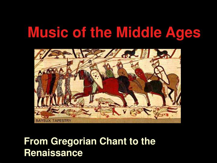 music of the middle ages n.
