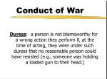conduct of war12