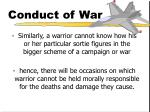 conduct of war15