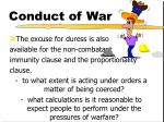 conduct of war16