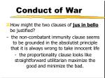 conduct of war6