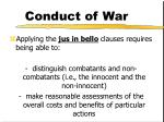 conduct of war7