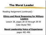 the moral leader1