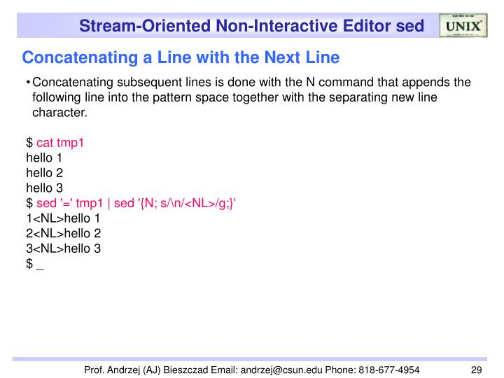 Concatenating a Line with the Next Line