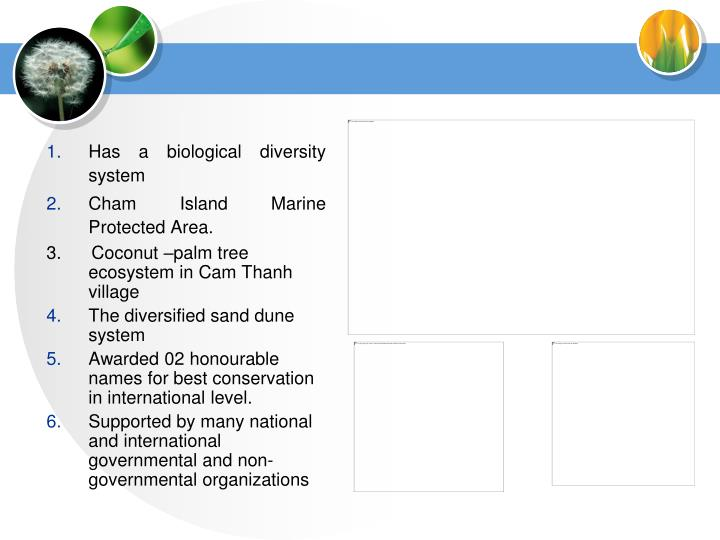 Has a biological diversity system