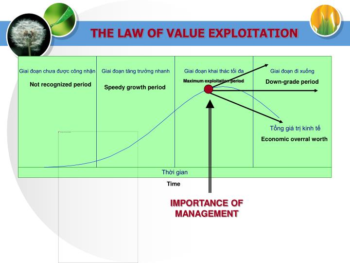 THE LAW OF VALUE EXPLOITATION