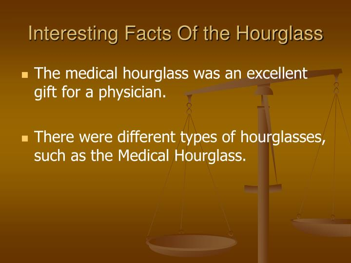 Interesting Facts Of the Hourglass