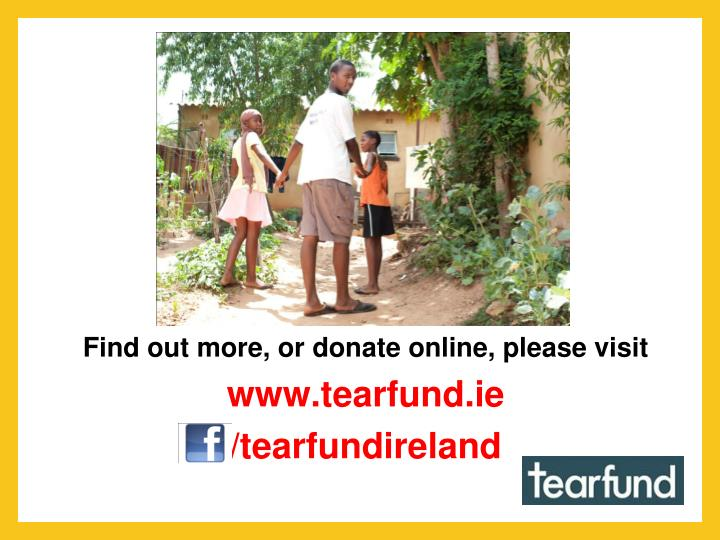 Find out more, or donate online, please visit