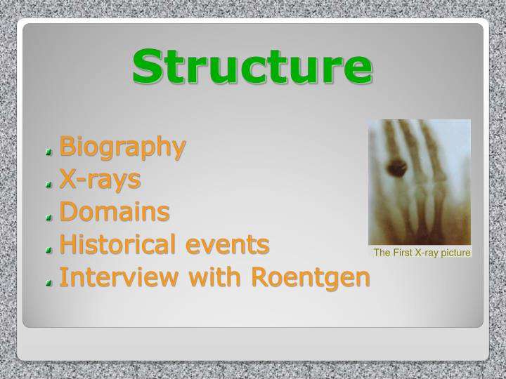 an analysis of wilhelm conrad roentgen born in lennep germany Dr wilhelm conrad röentgen discovered the existence of x-rays and has been chosen as a day birthday at its annual meeting in chicago it is also a special recognition for canadian recently published textbook, discover radiology: chest x-ray interpretation our residents congratulations to dr.