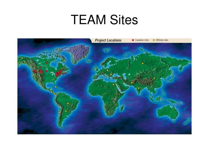 TEAM Sites