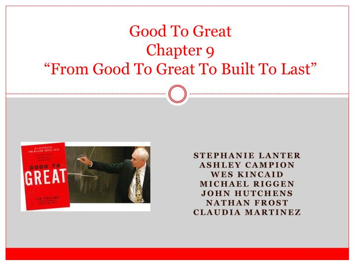 good to great ch 9 Lists about: best books ever, best books of the 20th century, best books of the decade: 2000s, the best epic fantasy, best books of the 21st century, can.