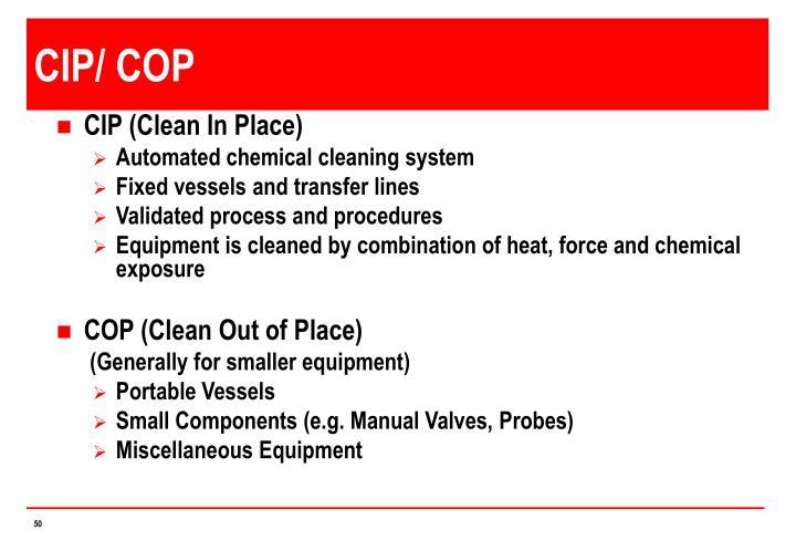 CIP/ COP