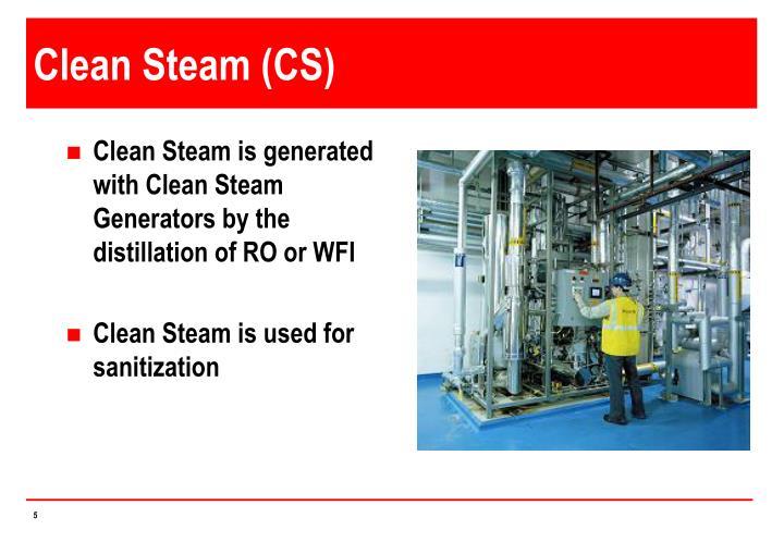 Clean Steam (CS)