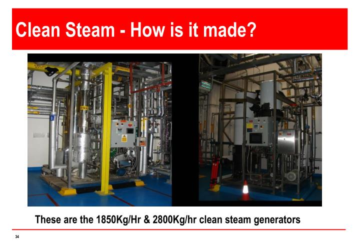 Clean Steam - How is it made?