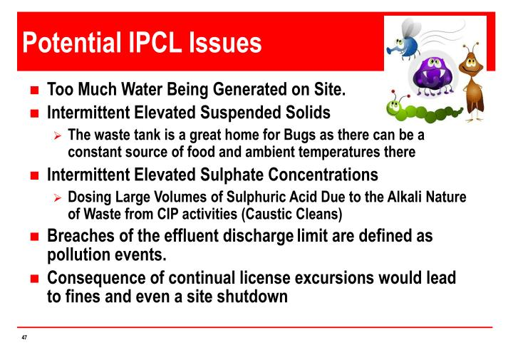 Potential IPCL Issues