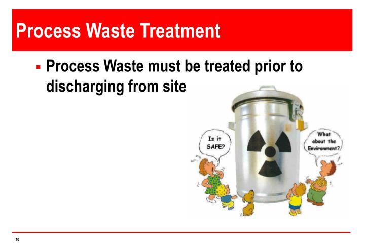 Process Waste Treatment