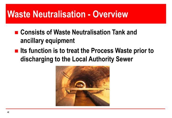 Waste Neutralisation - Overview