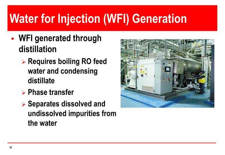Water for Injection (WFI) Generation