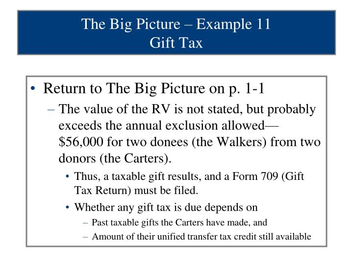 The Big Picture – Example 11
